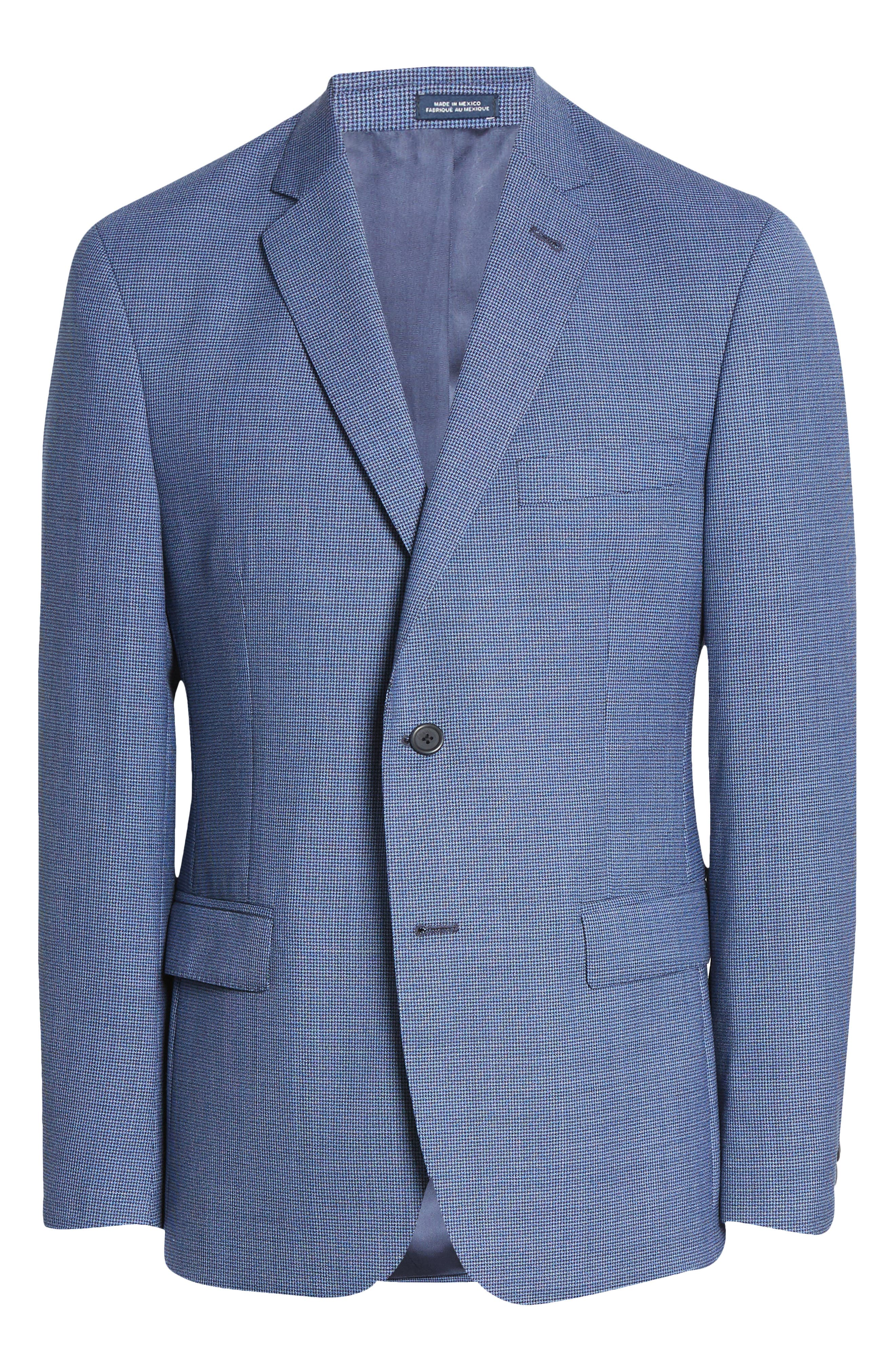 Image of John W. Nordstrom Traditional Fit Check Wool Sport Coat