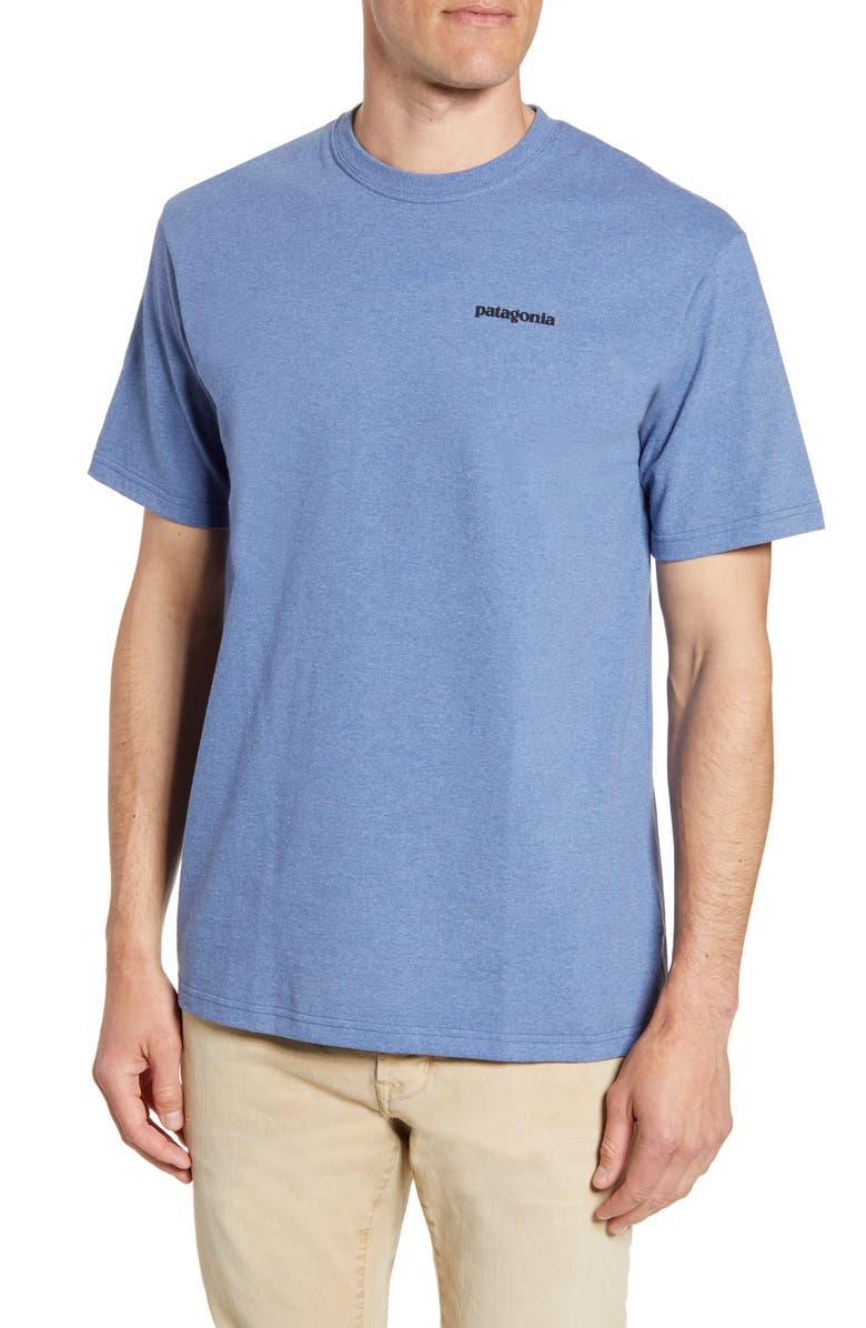 PATAGONIA Responsibili-Tee T-Shirt, Main, color, WOOLY BLUE