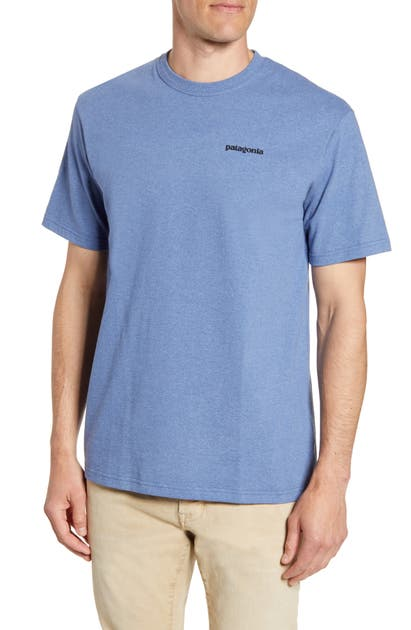 Patagonia Responsibili-Tee T-Shirt In Wooly Blue