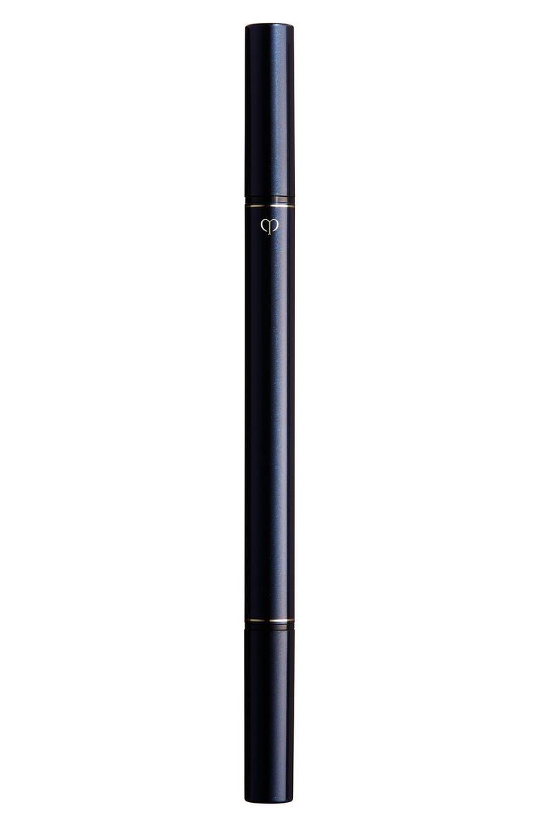 CLÉ DE PEAU BEAUTÉ Intensifying Liquid Eyeliner, Main, color, BLACK
