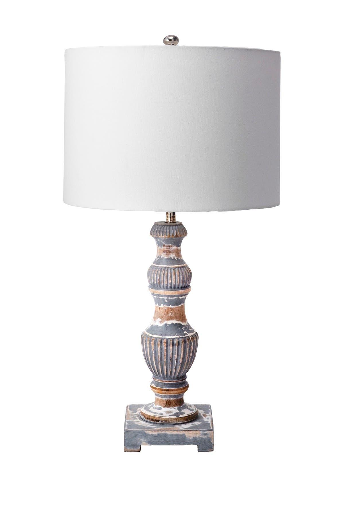 """Image of nuLOOM Jiley Wood 14"""" Table Lamp"""