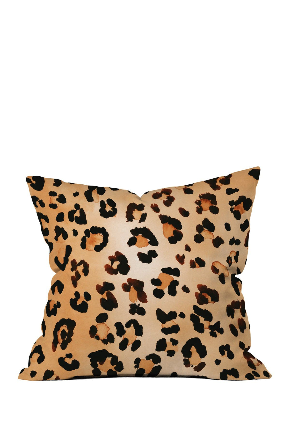 Deny Designs Amy Sia Animal Leopard Brown Square Throw Pillow Nordstrom Rack