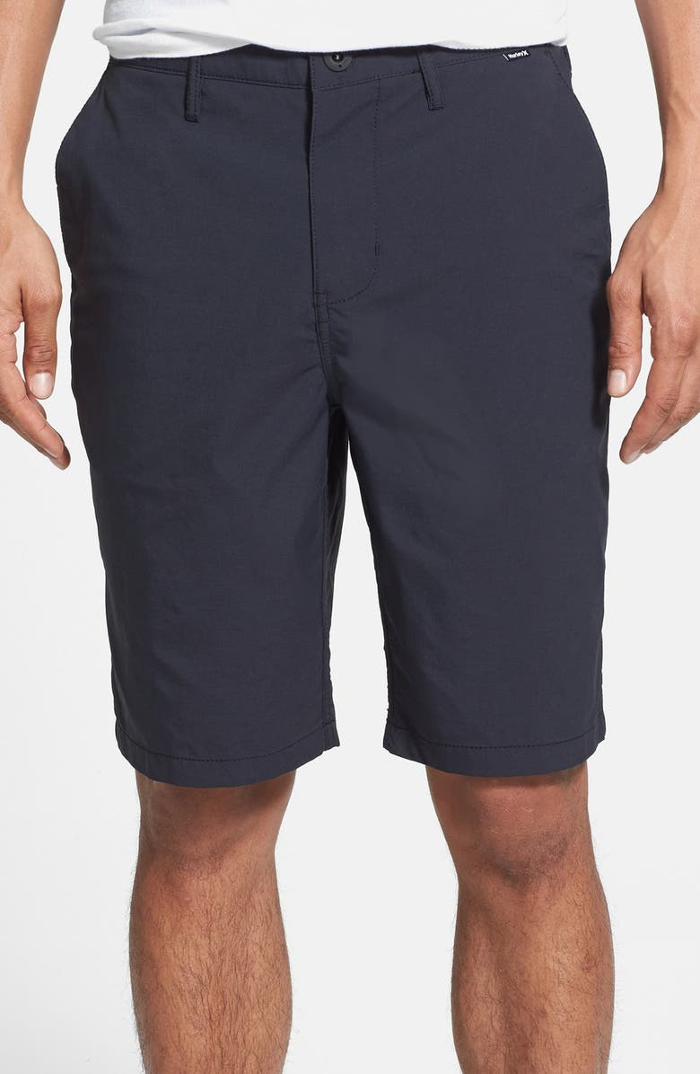 HURLEY 'Dry Out' Dri-FIT<sup>™</sup> Chino Shorts, Main, color, 010