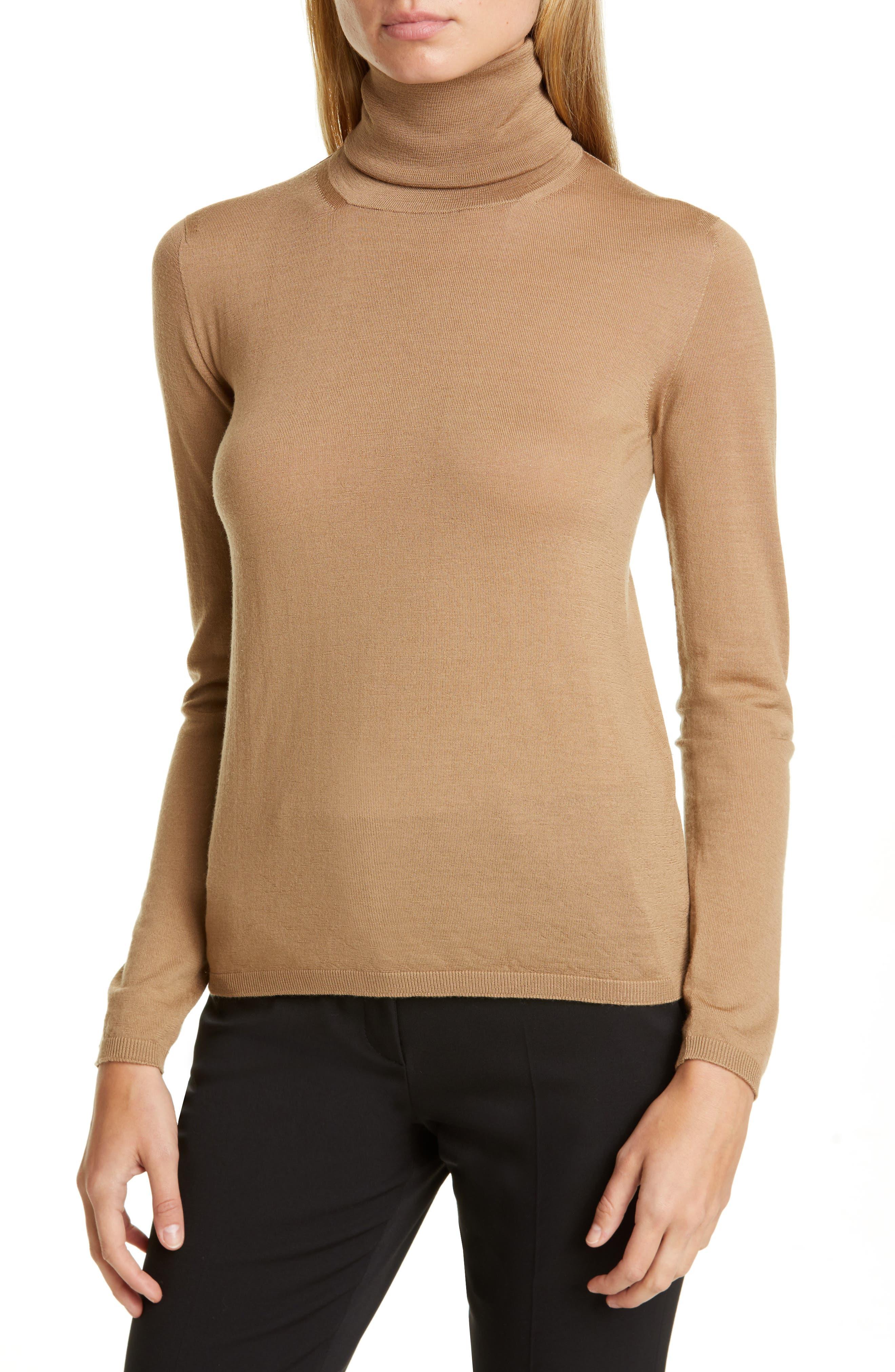 Max Mara Tops Kipur Wool Turtleneck Sweater
