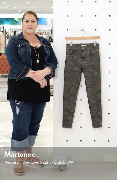 Ellie Camouflage High Waist Crop Jeggings, sales video thumbnail