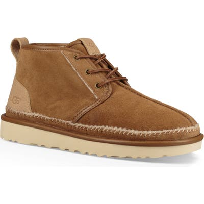 UGG Neumel Stitch Chukka Boot, Brown