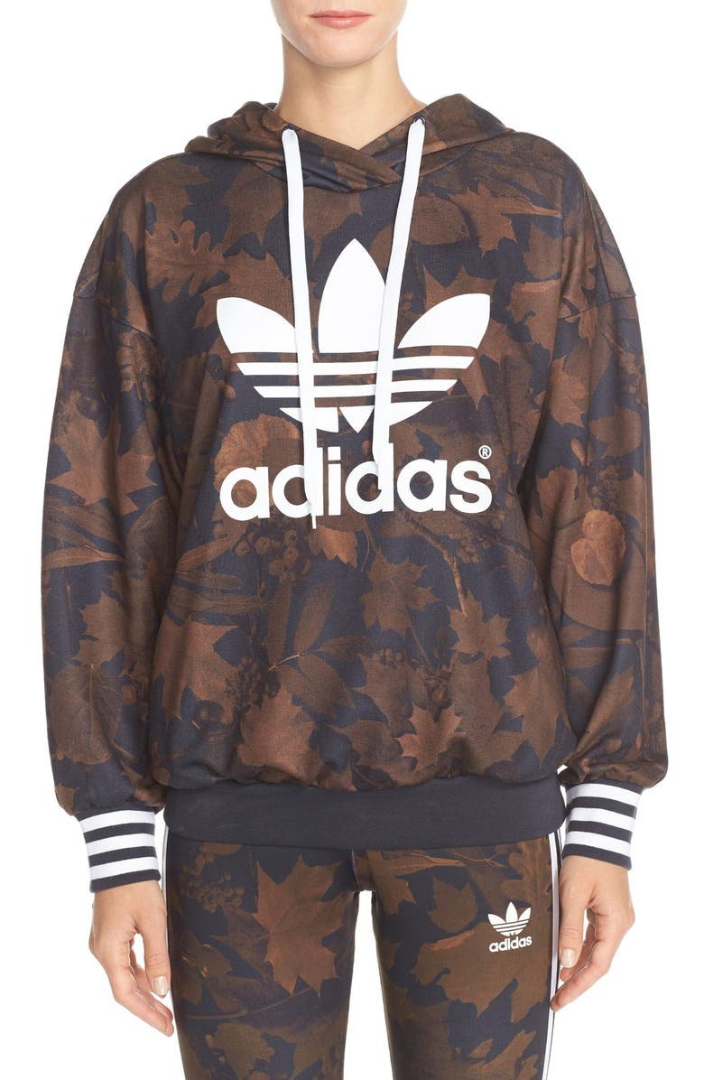 adidas Originals Leaf Camo Hood | Multi | Pullover hoodies