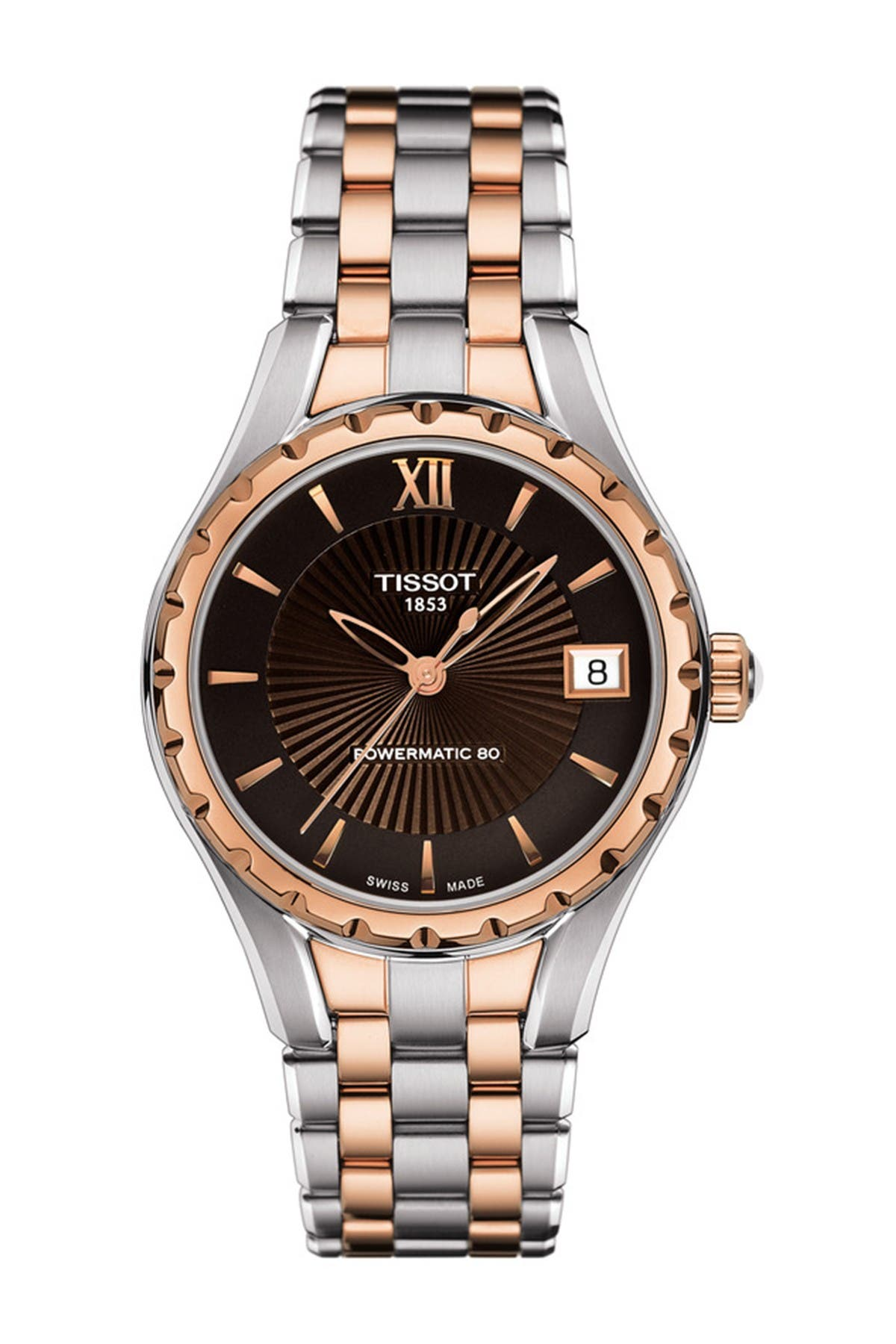 Image of Tissot Women's Two-Tone T072 Watch, 34mm