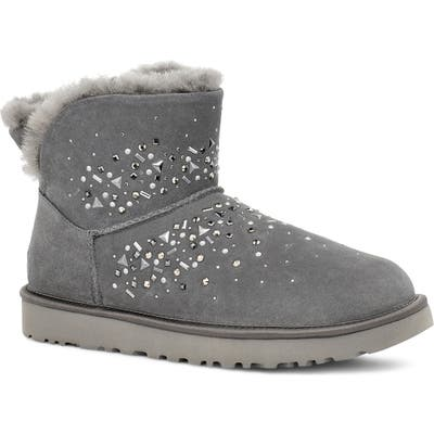 UGG Classic Galaxy Bling Mini Bootie, Grey
