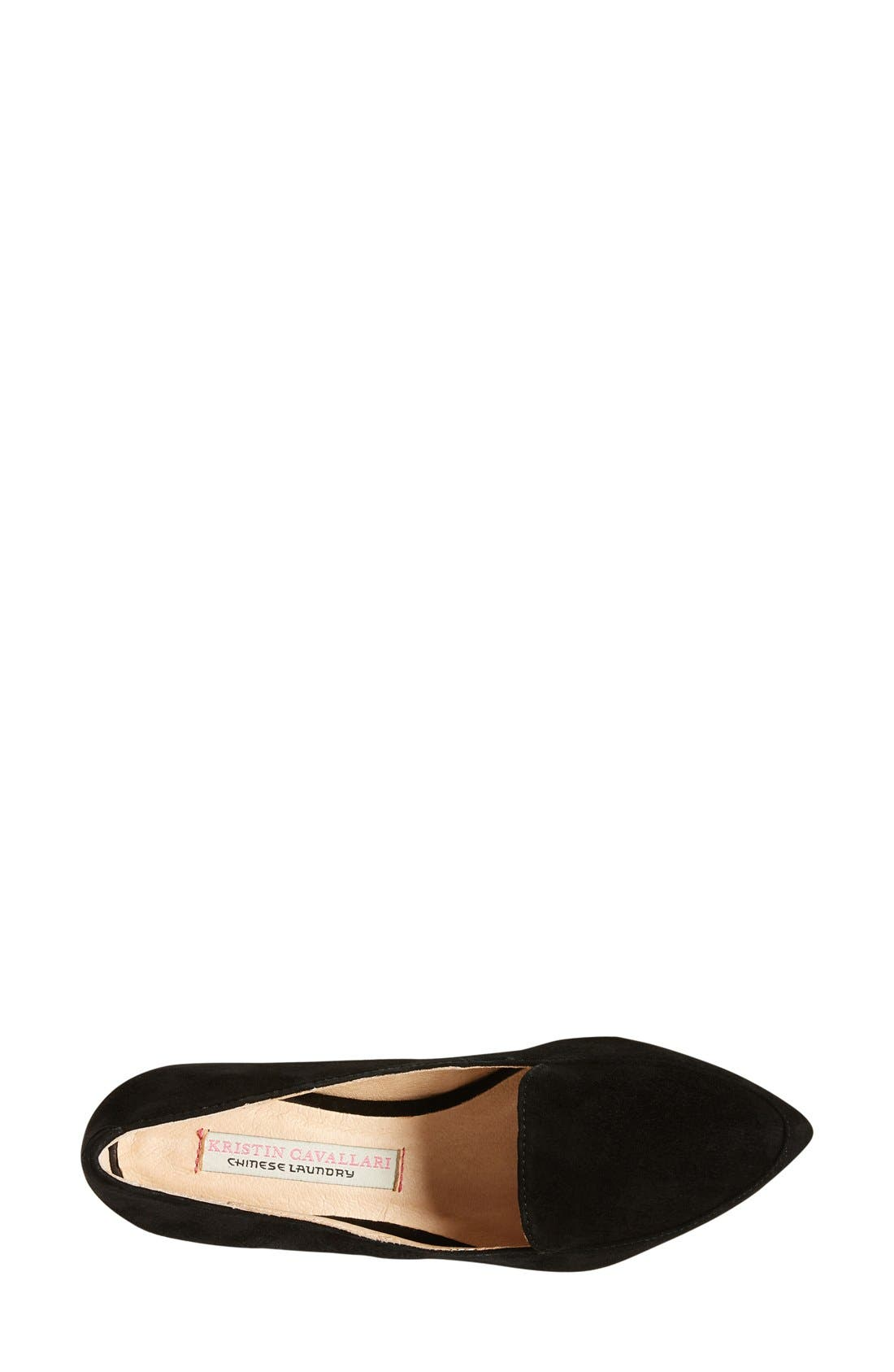 ,                             'Chandy' Loafer,                             Alternate thumbnail 7, color,                             001
