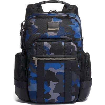 Tumi Alpha Bravo Nathan Camo Expandable Backpack - Grey