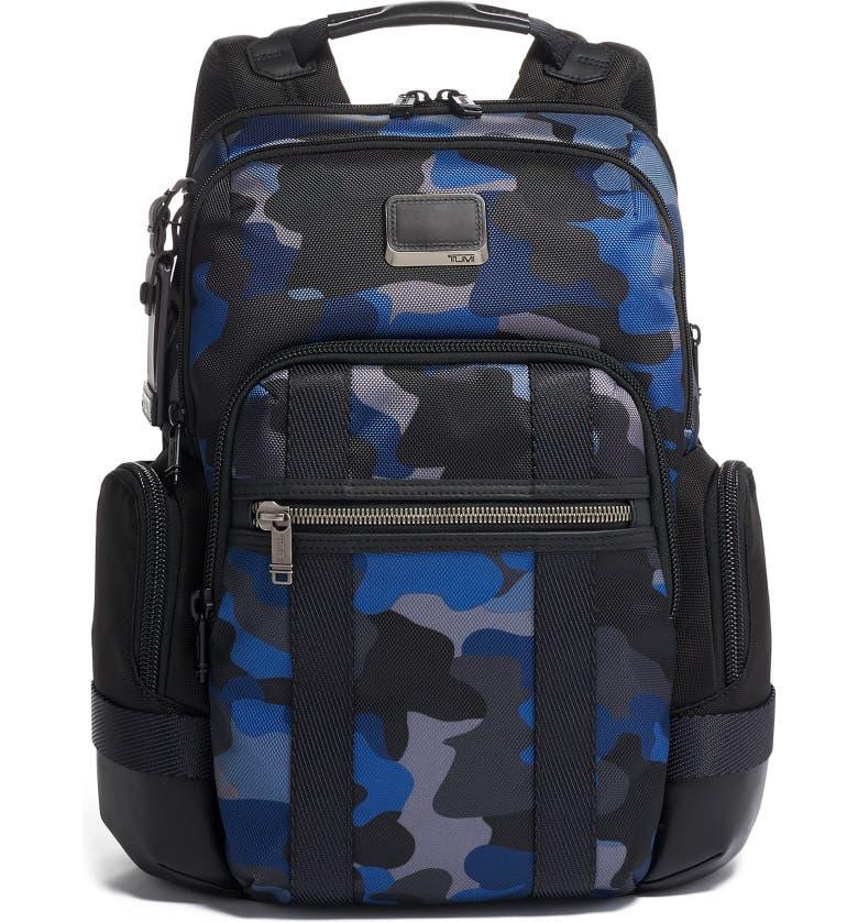 TUMI Alpha Bravo Nathan Camo Expandable Backpack, Main, color, CAMO