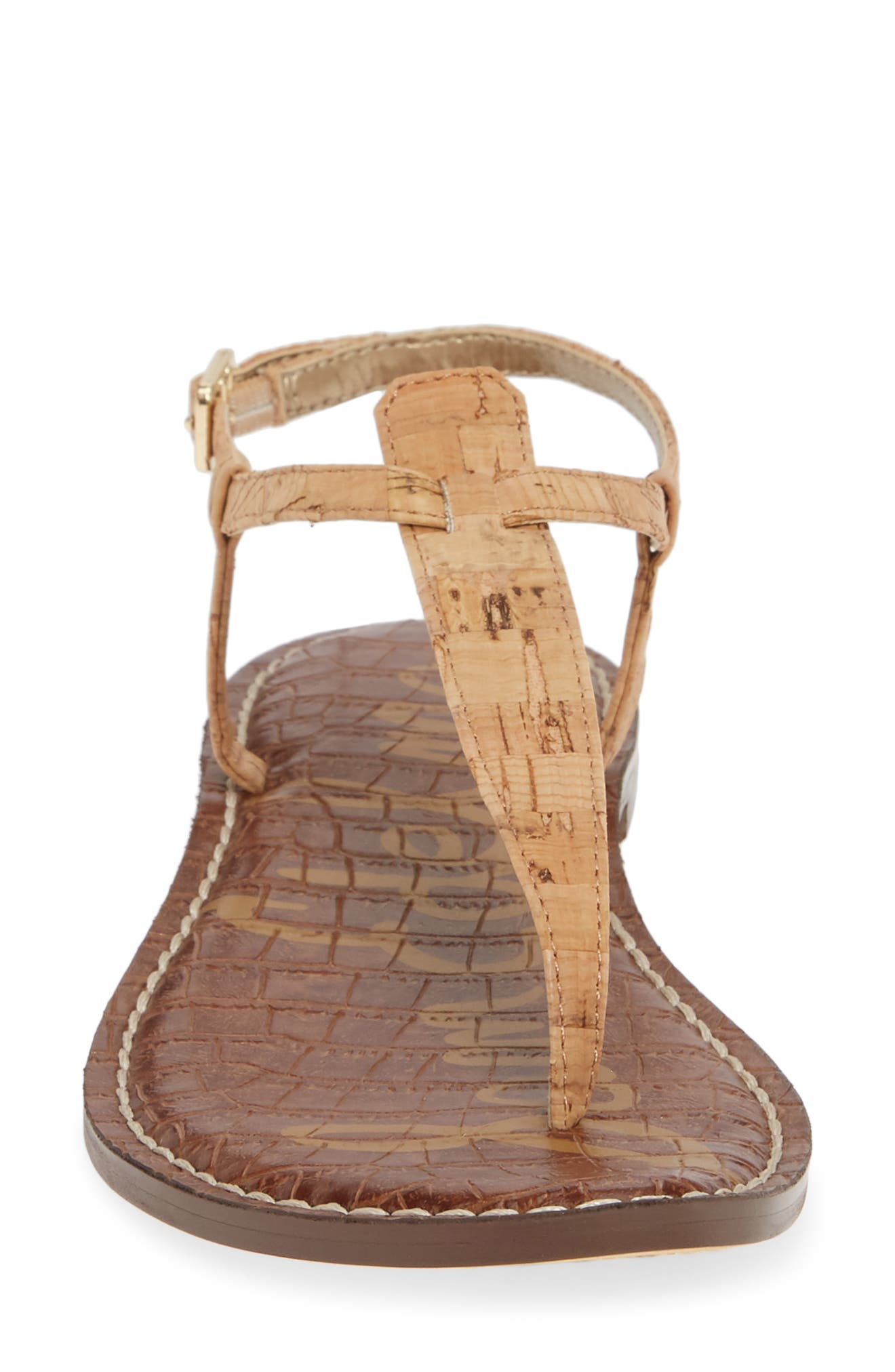 ,                             Gigi Sandal,                             Alternate thumbnail 5, color,                             NATURAL CORK