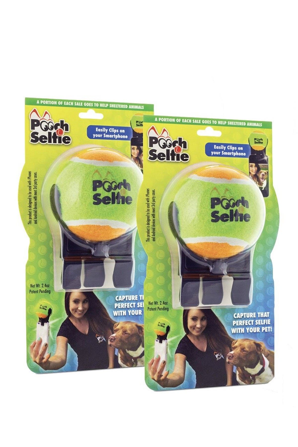 Image of Pooch Selfie Twin Pack