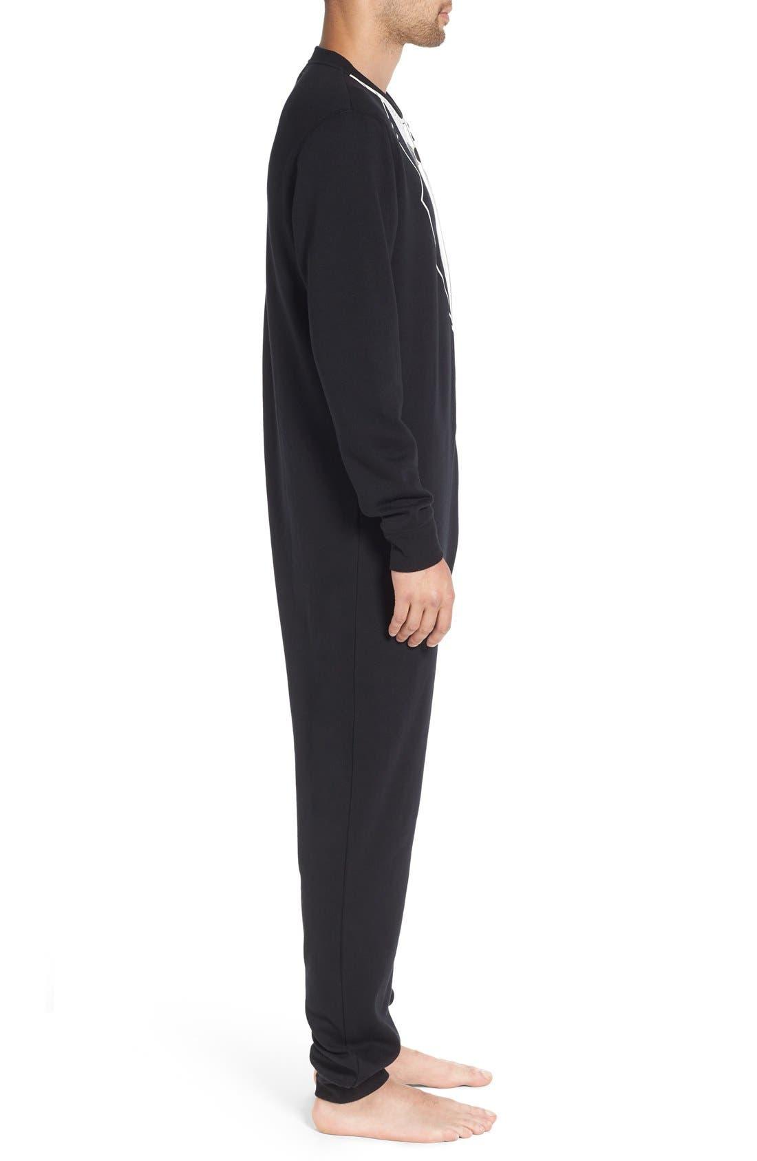 ,                             Fleece One-Piece Pajamas,                             Alternate thumbnail 25, color,                             001