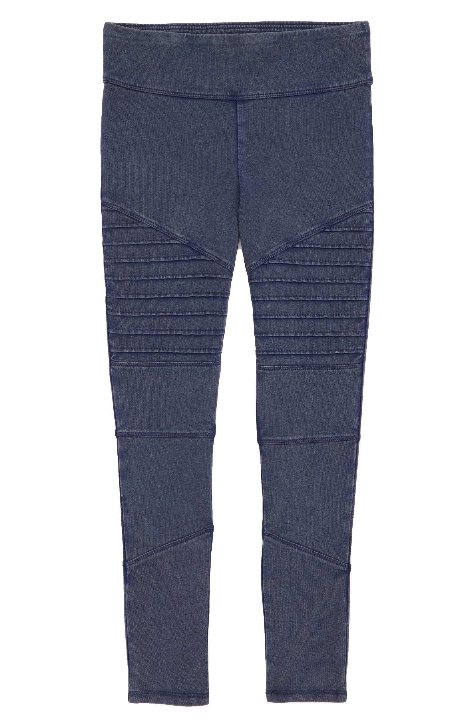 25f6ce467735a Tucker + Tate High Waist Moto Pants (Big Girls) | Nordstrom