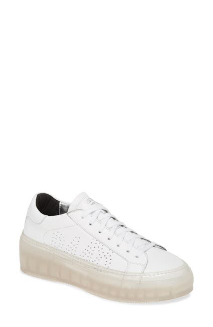 Image of P448 Louise Leather Platform Sneaker