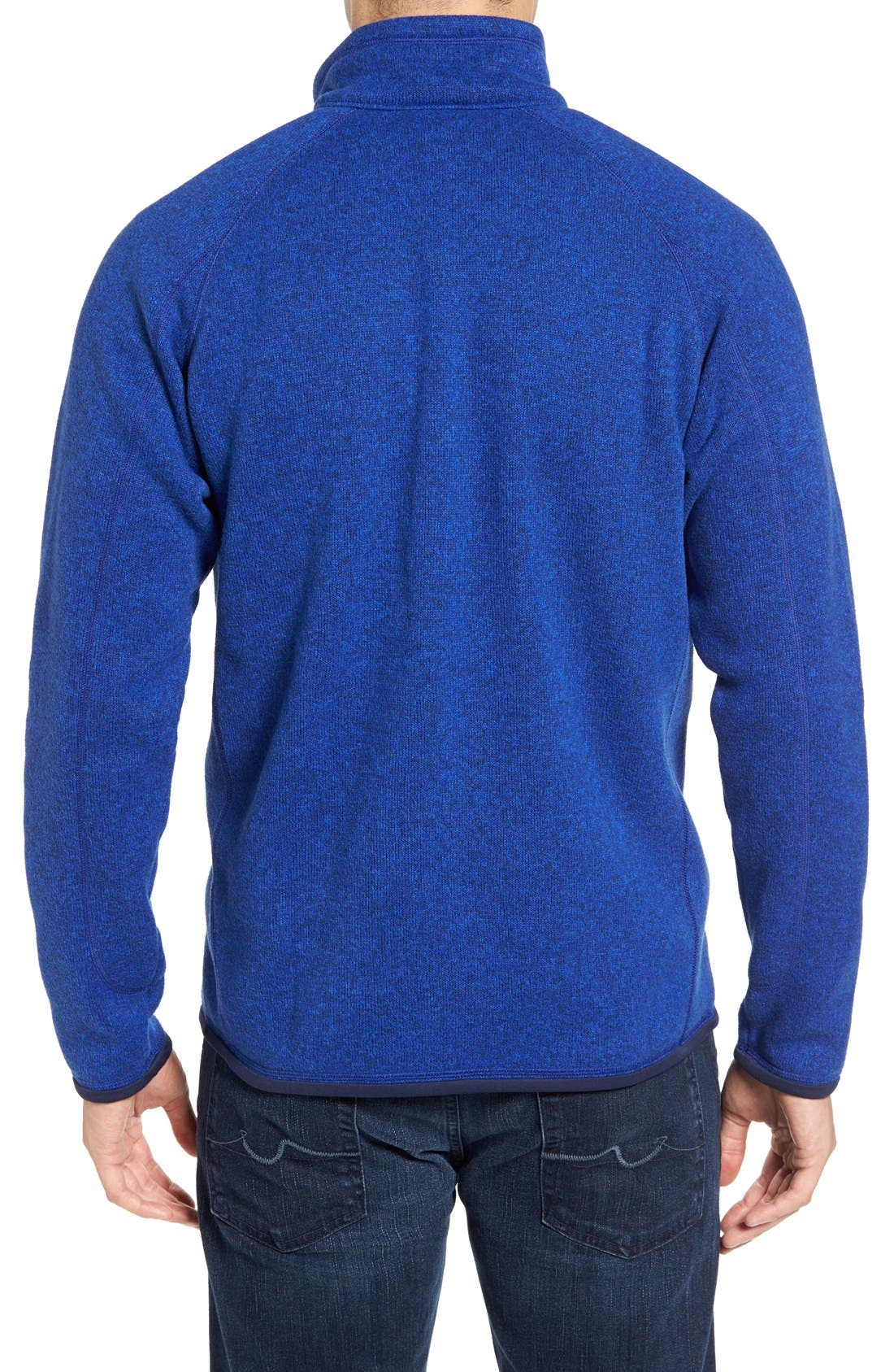 ,                             Better Sweater Quarter Zip Pullover,                             Main thumbnail 163, color,                             403