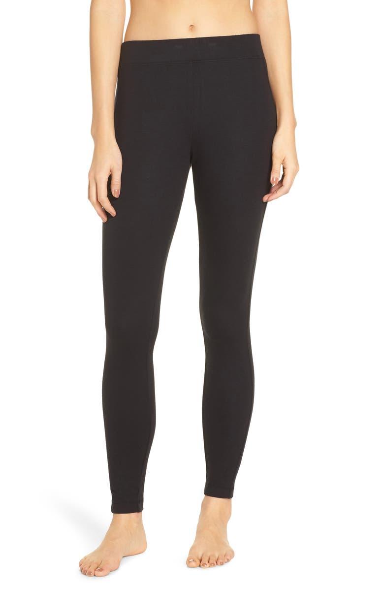 UGG<SUP>®</SUP> Ashlee Leggings, Main, color, BLACK