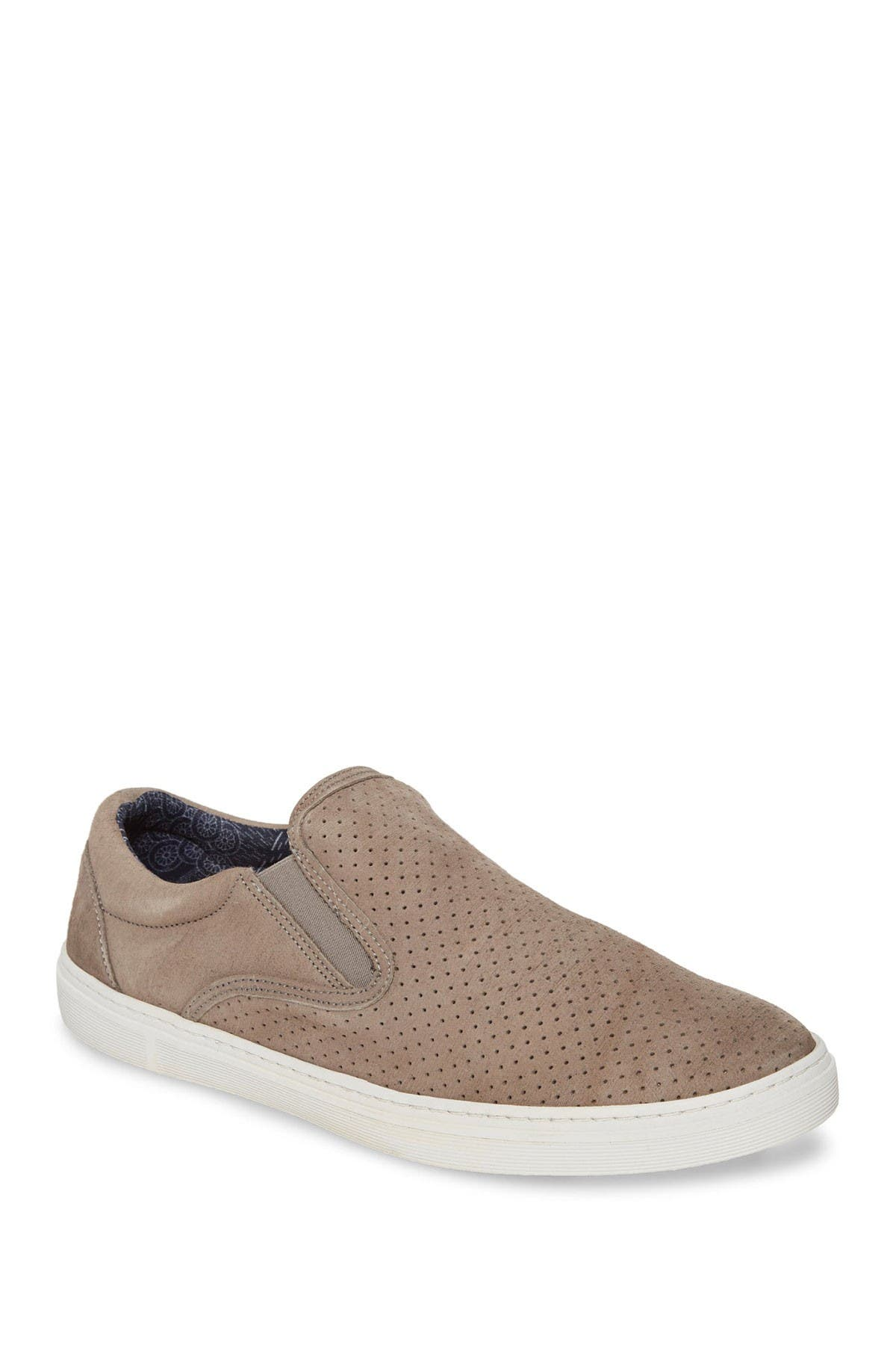 Image of SUPPLY LAB Donovan Leather Slip-On Sneaker