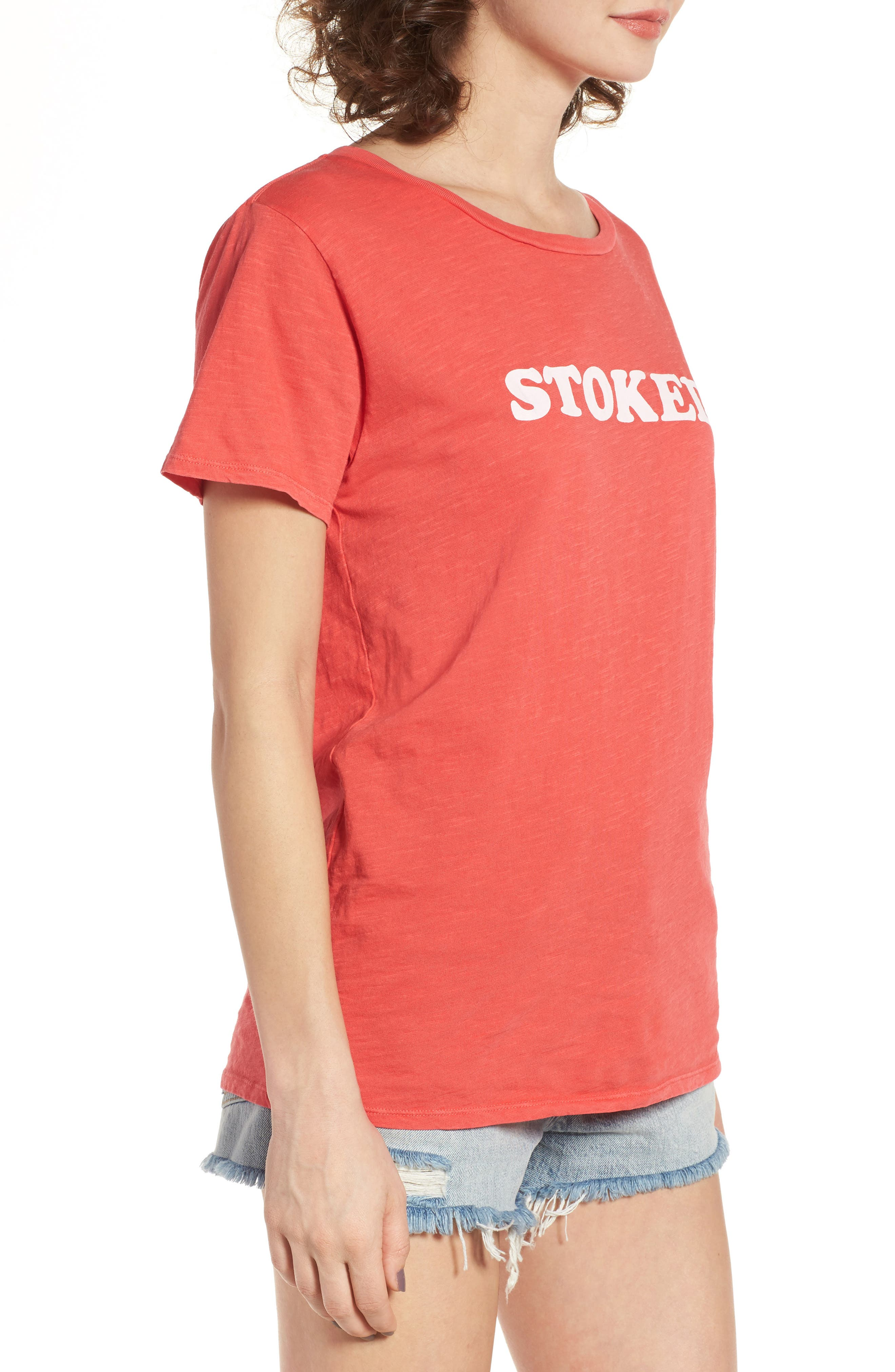 ,                             Stoked Graphic Tee,                             Alternate thumbnail 3, color,                             616
