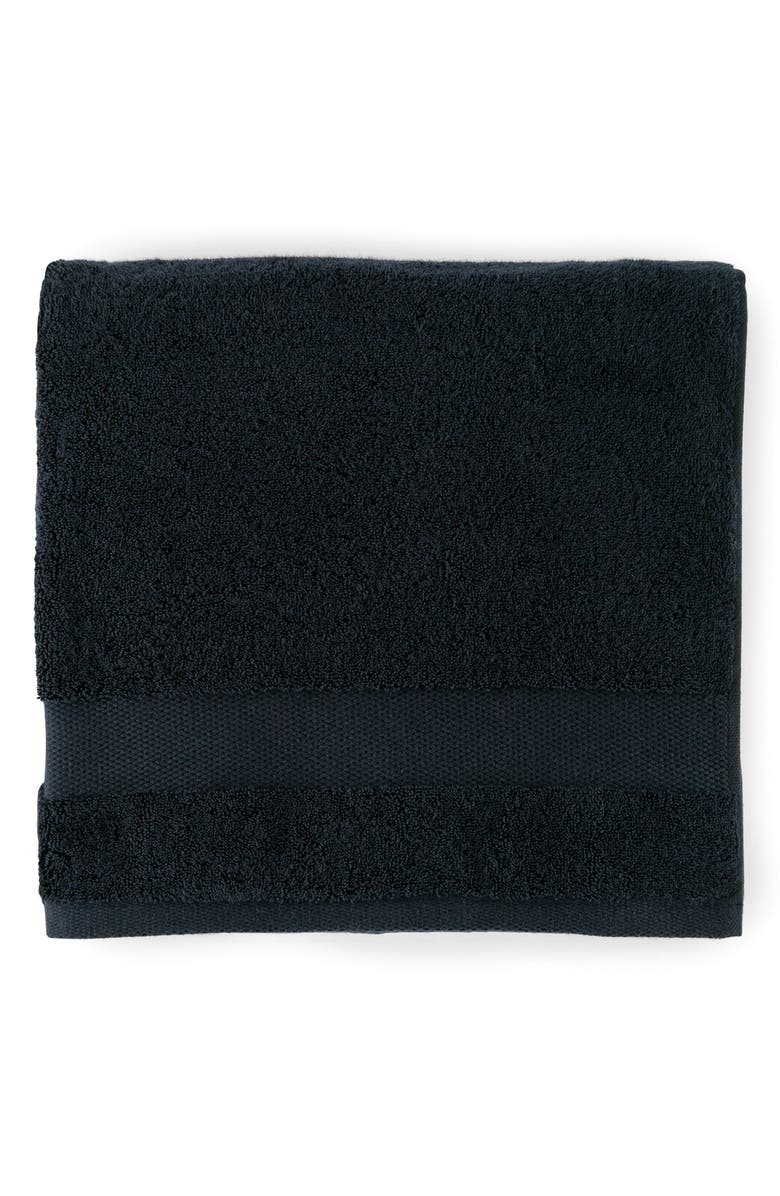 SFERRA Bello Hand Towel, Main, color, BLACK