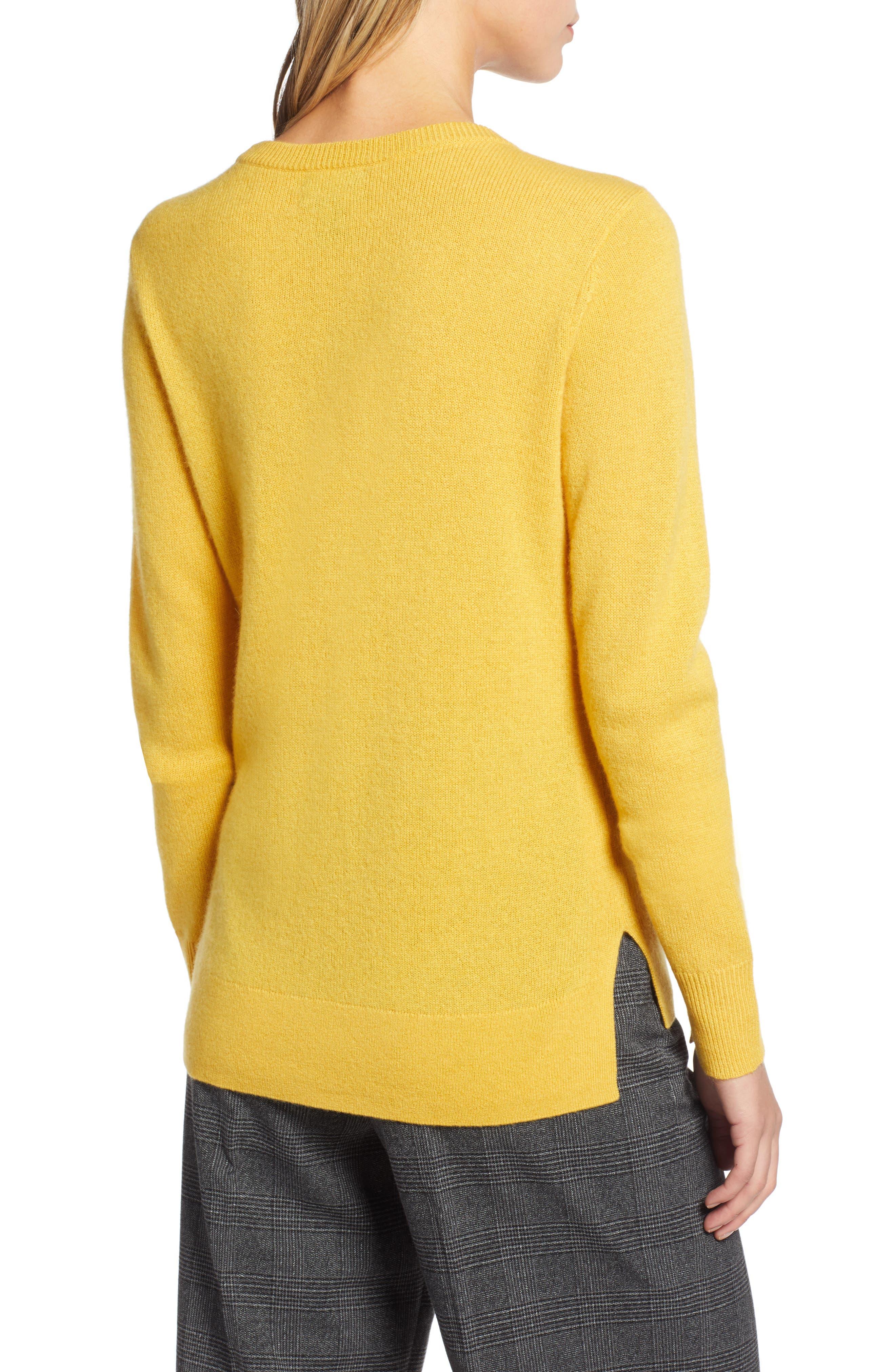,                             Crewneck Cashmere Sweater,                             Alternate thumbnail 222, color,                             720
