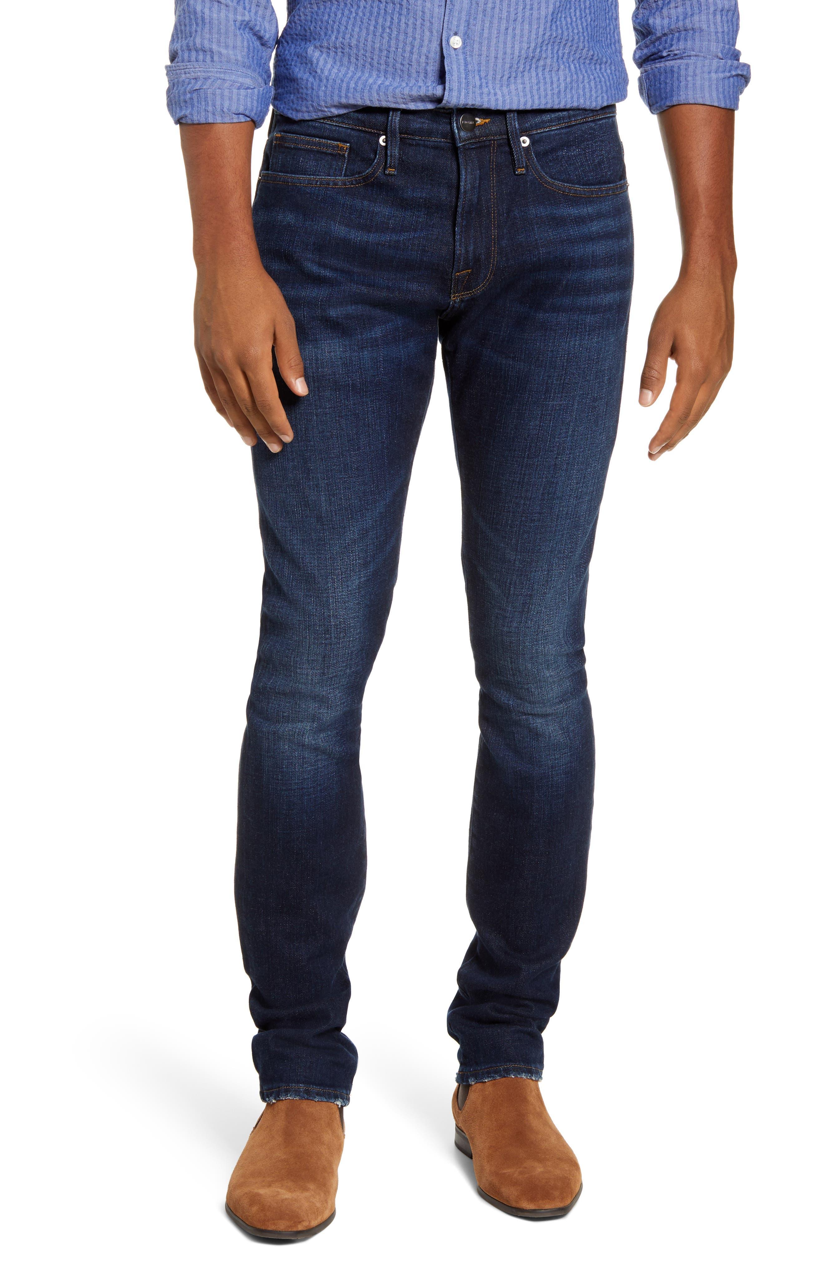 Men's Frame L'Homme Slim Fit Jeans,  29 - Blue