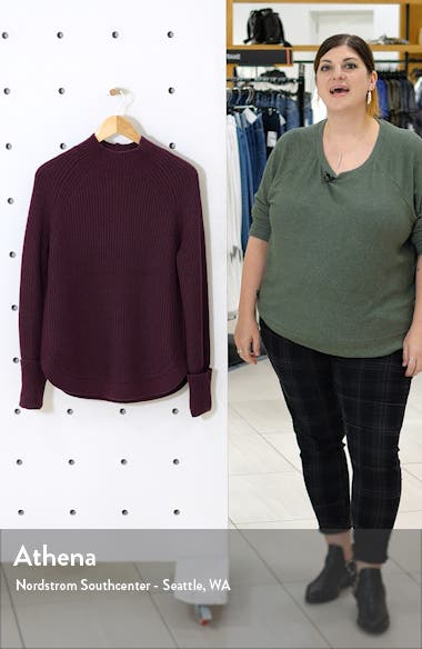 Mock Neck Sweater, sales video thumbnail