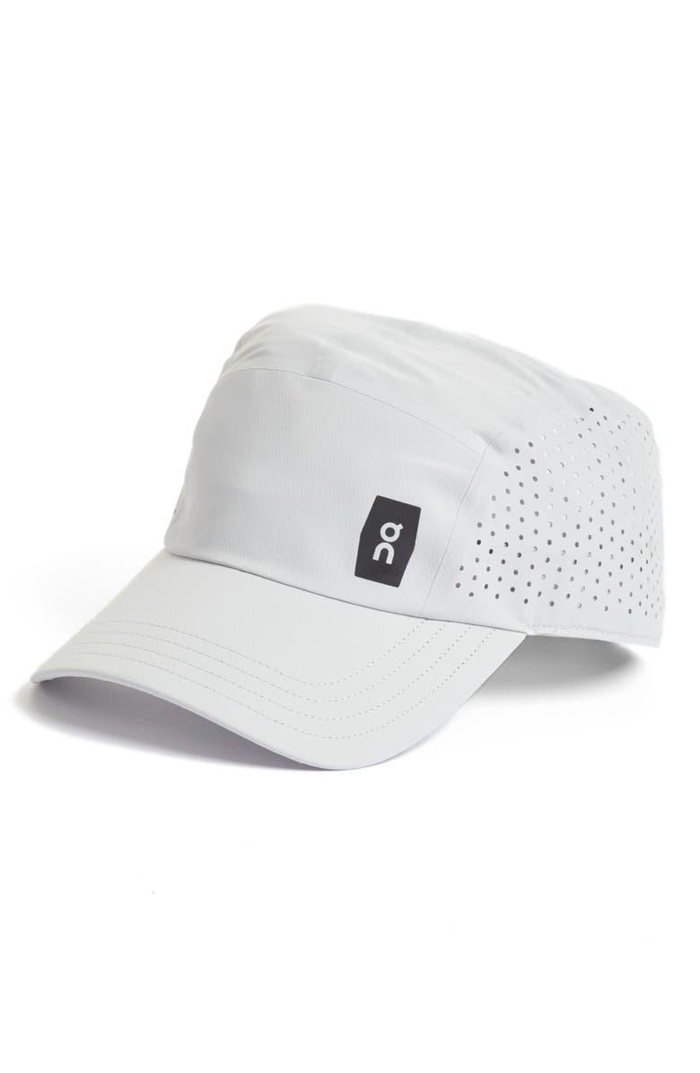 ON Running Lightweight Cap, Main, color, GREY