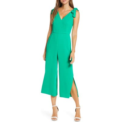 Lilly Pulitzer Danni Crop Jumpsuit, Green