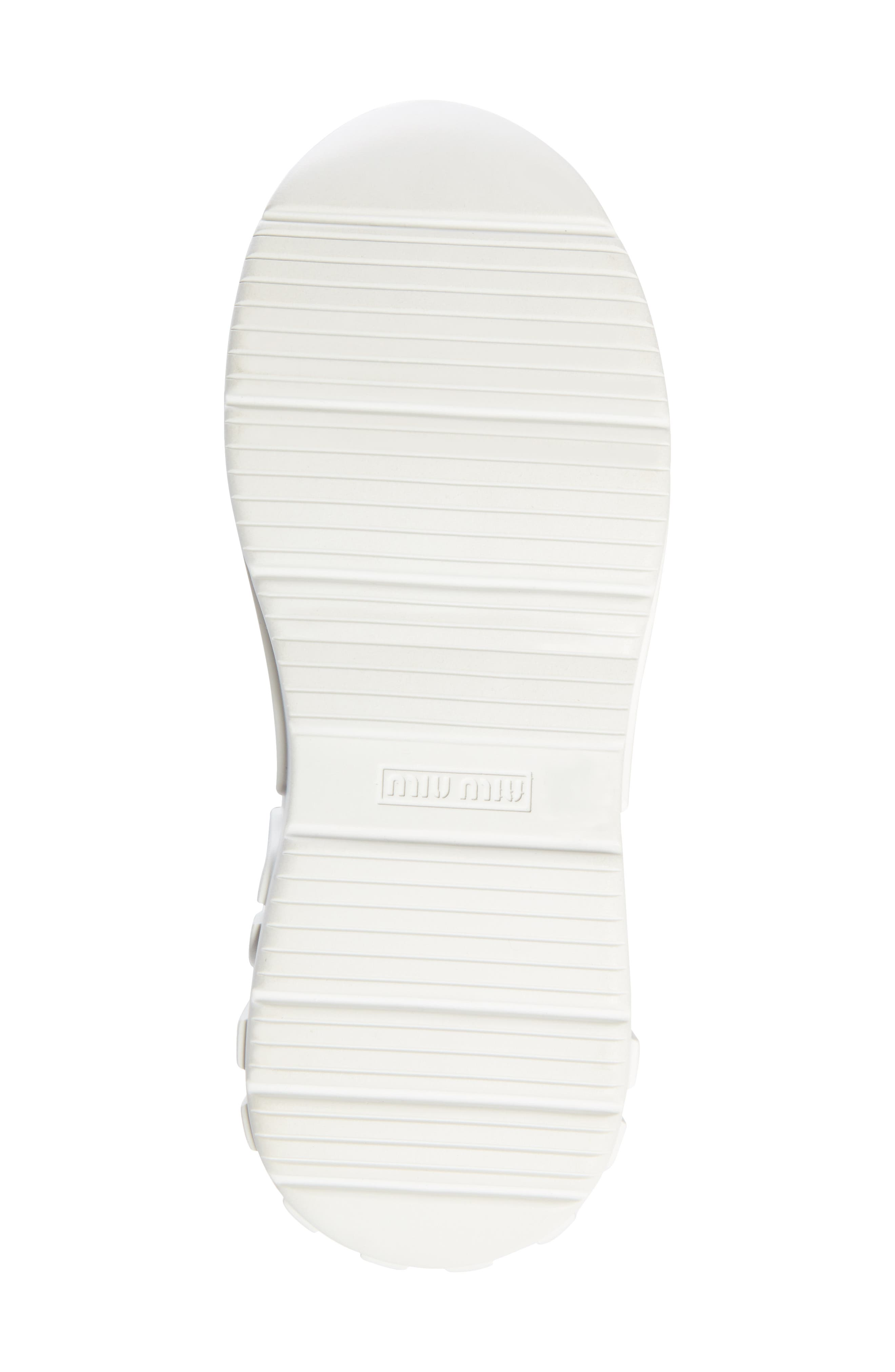 ,                             Logo Sole Sneaker,                             Alternate thumbnail 6, color,                             WHITE