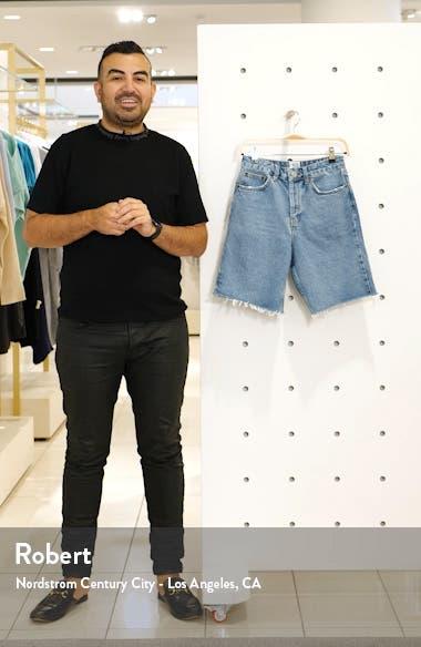 Denim Boyfriend Shorts, sales video thumbnail