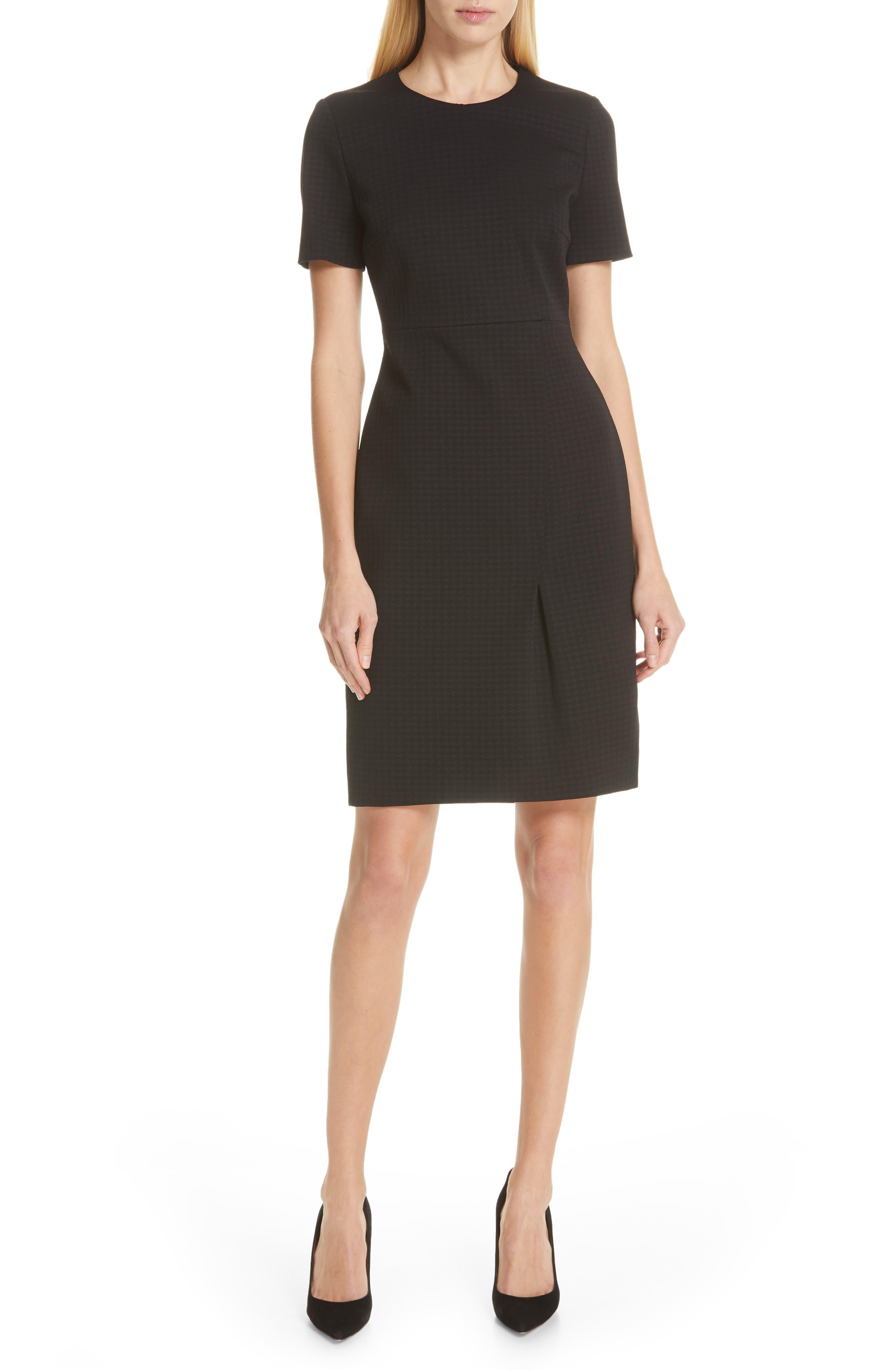 Boss Ditadara Sheath Dress, Black