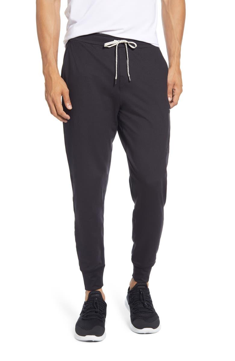 VUORI Sunday Performance Jogger Sweatpants, Main, color, BLACK