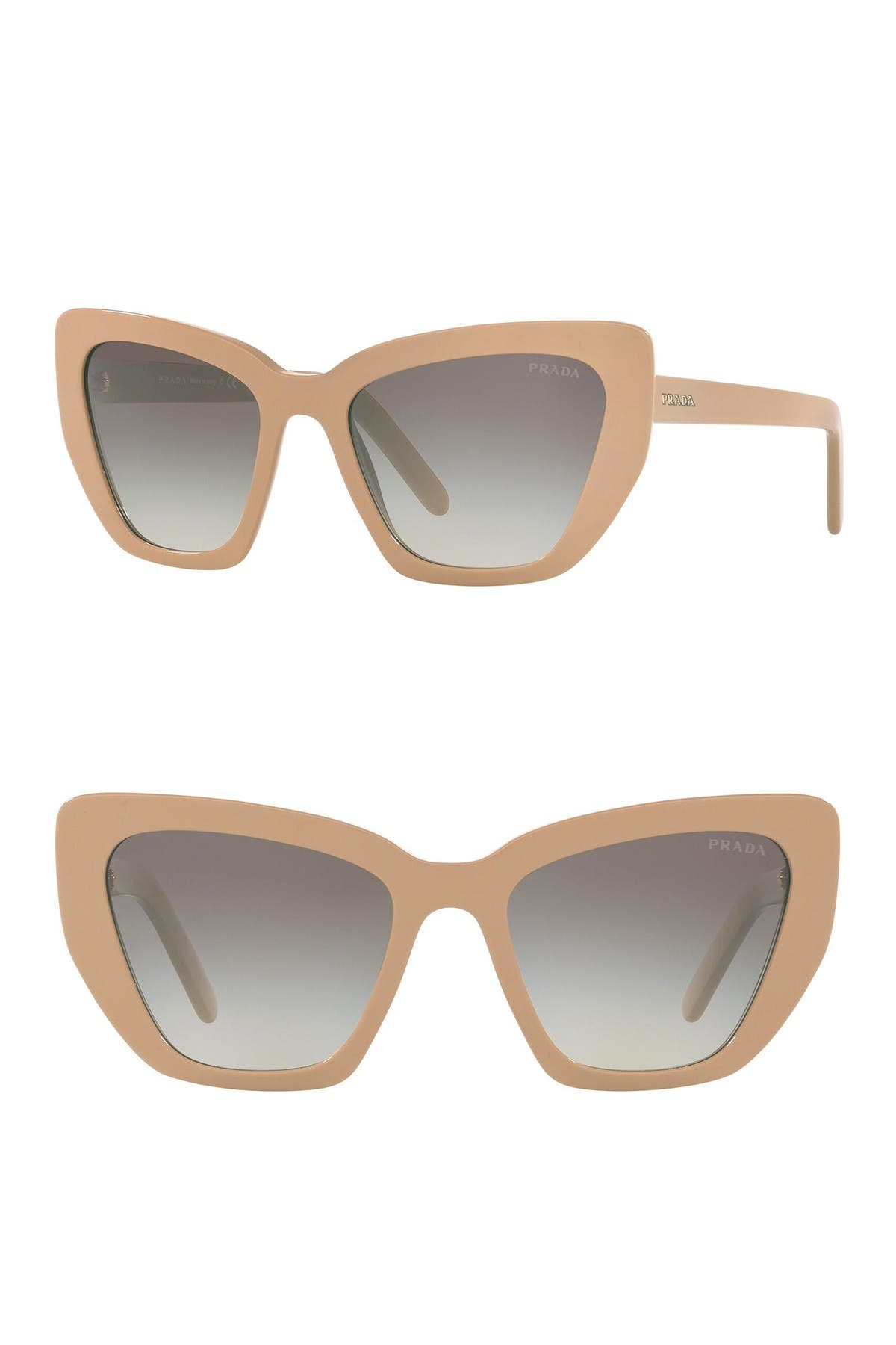 Image of Prada 55mm Cat Eye Sunglasses