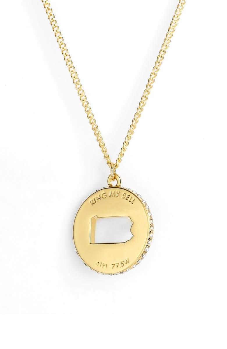 KATE SPADE NEW YORK 'state of mind' pendant necklace, Main, color, 707
