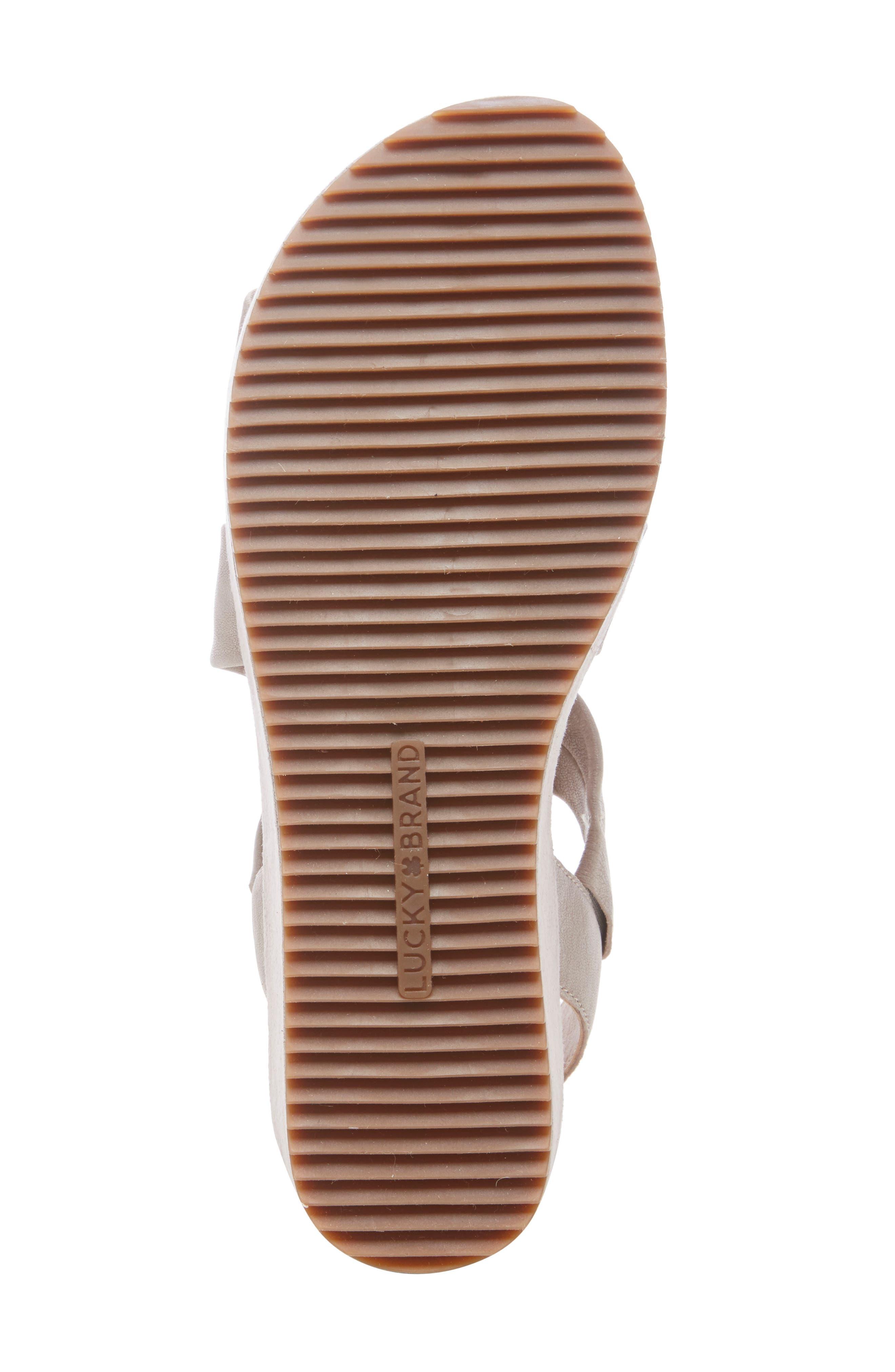 ,                             Waldyna Wedge Platform Sandal,                             Alternate thumbnail 6, color,                             060