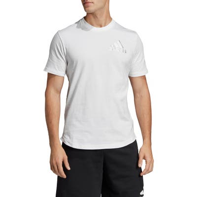 Adidas Sid Perforated T-Shirt, White