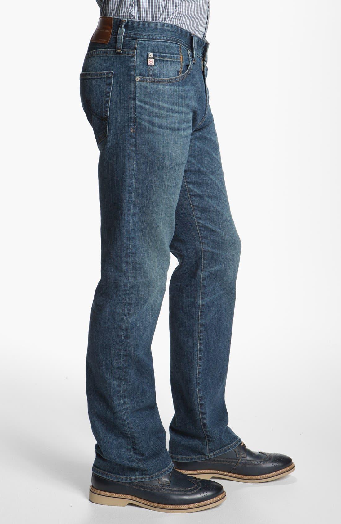,                             'Protégé' Straight Leg Jeans,                             Alternate thumbnail 27, color,                             422