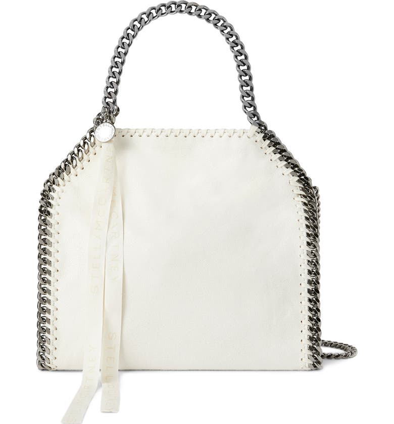 STELLA MCCARTNEY Mini Isetan Faux Leather Tote, Main, color, 101