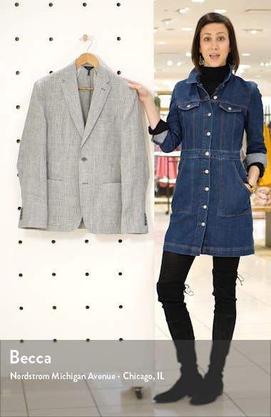 Downtown Trim Fit Linen Sport Coat, sales video thumbnail