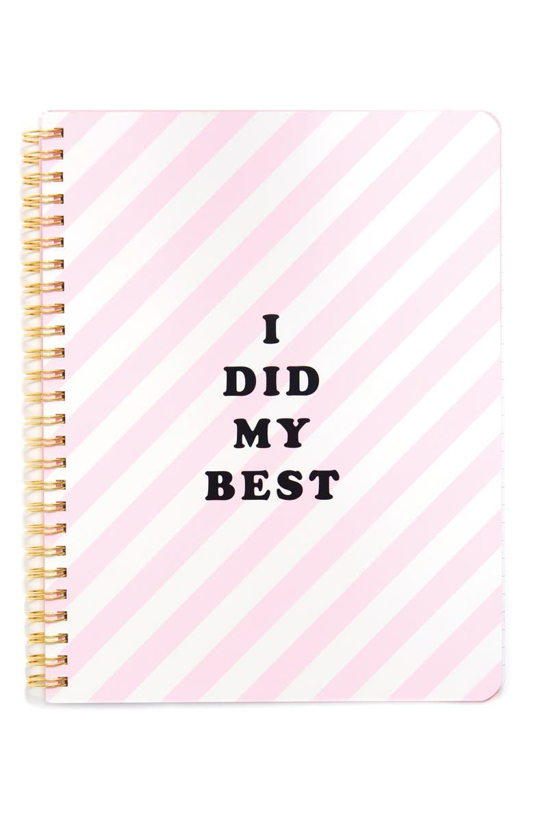 BAN.DO 'Rough Draft - I Did My Best' Notebook, Main, color, 650