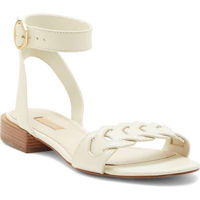 Louise Et Cie Arstan Ankle Strap Sandal, White
