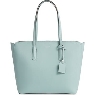 Kate Spade New York Large Margaux Leather Tote - Blue