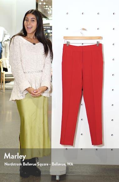 Stretch Crepe Skinny Pants, sales video thumbnail