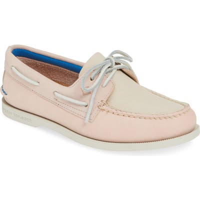 Sperry Plush Colorblock Loafer, Pink