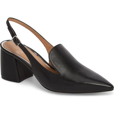 Linea Paolo Carly Slingback Pump- Black