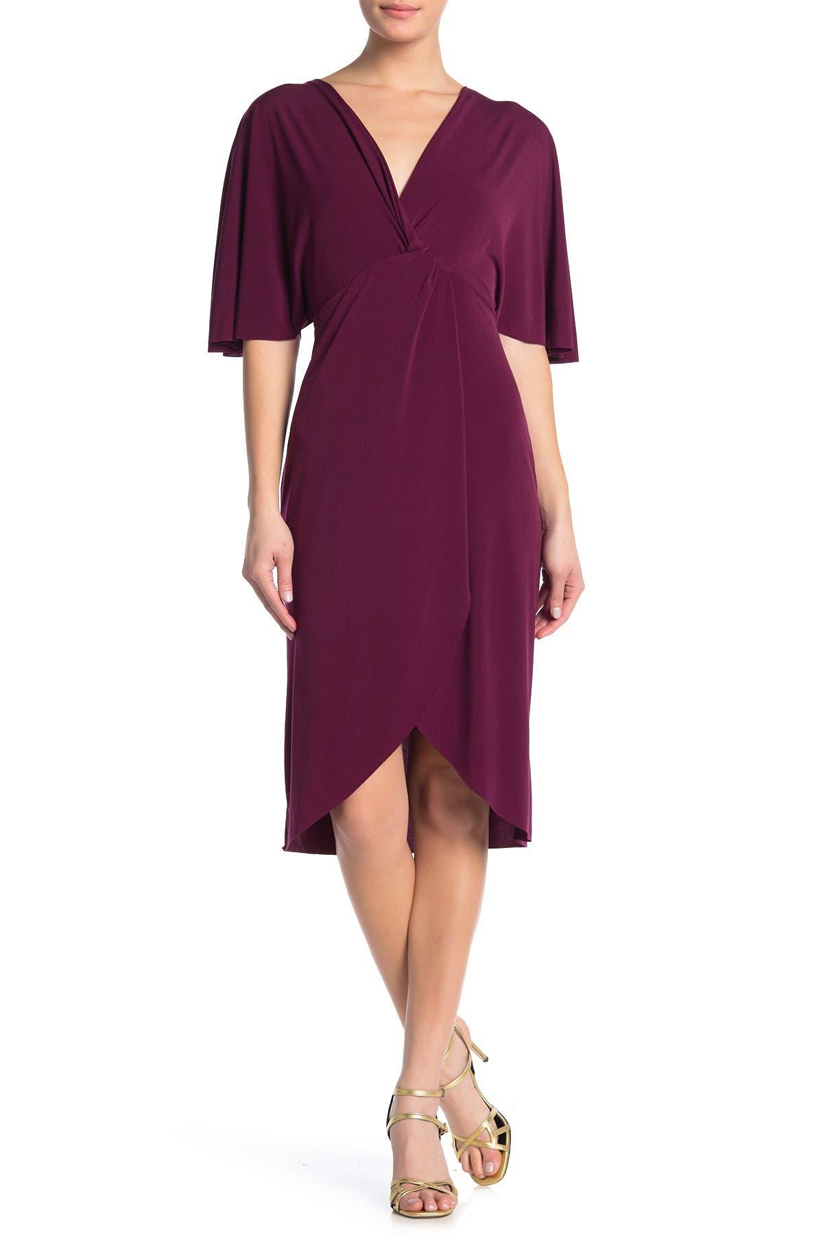 Vanity Room Knit Dolman Sleeve Twist Front Dress Nordstrom Rack