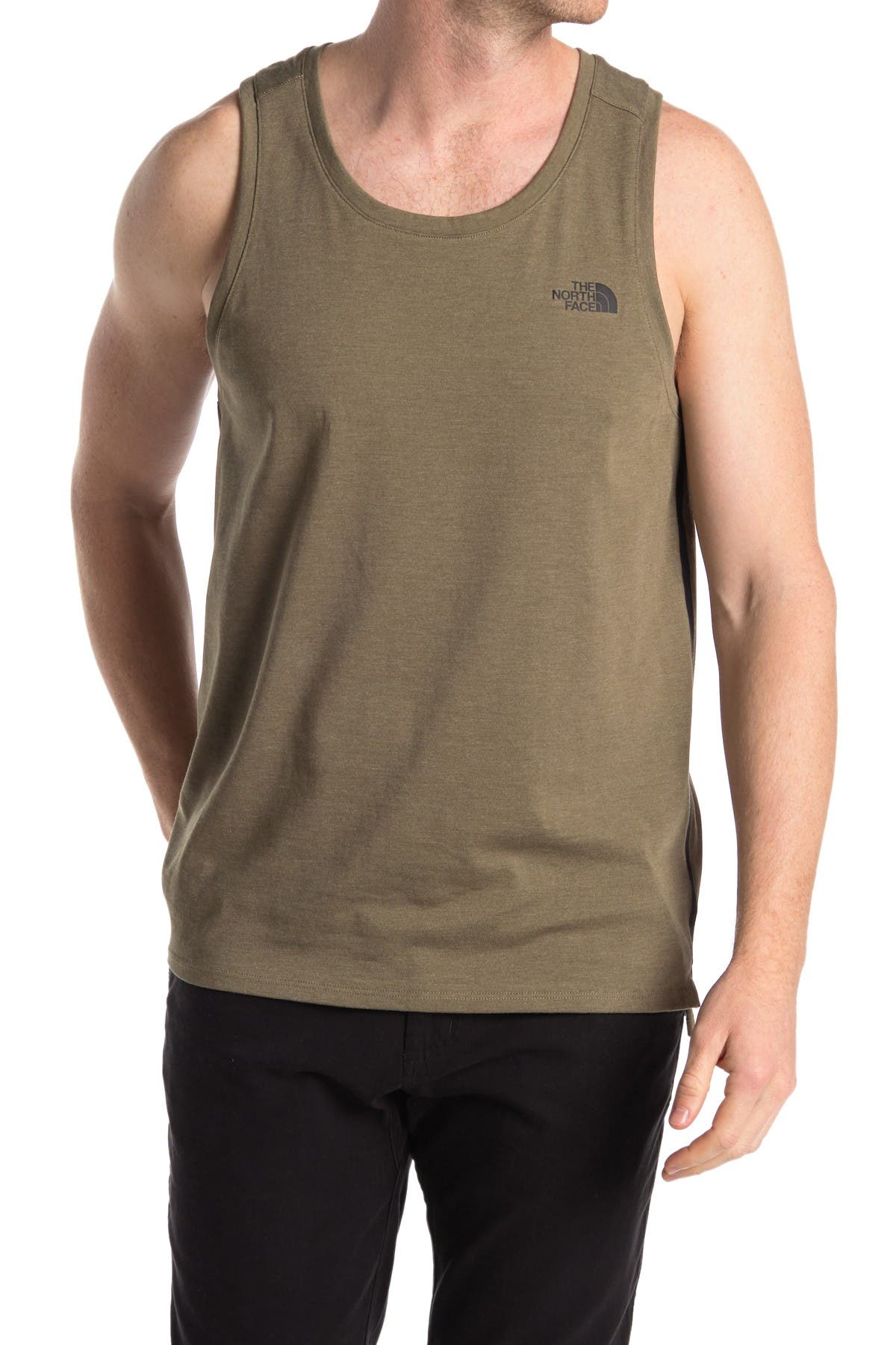 Image of The North Face Logo Stripe Tank